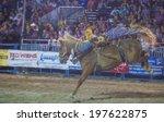 las vegas   may 16   cowboy... | Shutterstock . vector #197622875