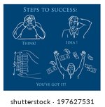 money icons  | Shutterstock .eps vector #197627531