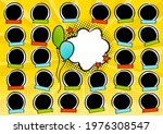 photo frame for group photos of ...   Shutterstock .eps vector #1976308547