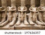 Ancient Ruins Of Karnak Temple...