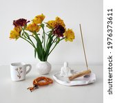 Coffee Mug Flowers Vase Buddha...