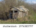 An Old Abandoned Small House In ...