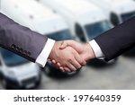 used car salesman | Shutterstock . vector #197640359