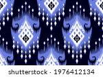 ikat tribal indian seamless... | Shutterstock .eps vector #1976412134