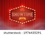 shining showtime sign against... | Shutterstock .eps vector #1976435291