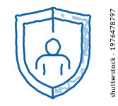 immunity protection sketch icon ...   Shutterstock .eps vector #1976478797