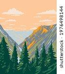 the stephen mather wilderness... | Shutterstock .eps vector #1976498144