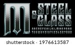 steel and glass is an ornate 3d ... | Shutterstock .eps vector #1976613587