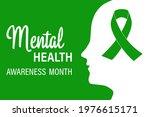 national mental health... | Shutterstock .eps vector #1976615171
