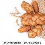 Fresh Crispy Bread With...