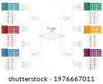 2020 21 european football... | Shutterstock .eps vector #1976667011