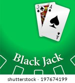 black jack and ace of spades...