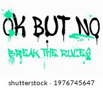 urban street style break the... | Shutterstock .eps vector #1976745647