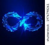 circular economy with infinite... | Shutterstock .eps vector #1976798261