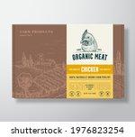 premium quality chicken meat... | Shutterstock .eps vector #1976823254