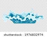 water splash animation. shock...