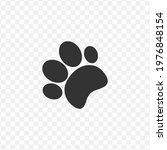 transparent dog paw icon png ...