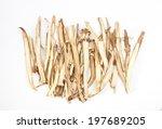 slice liquorice roots the... | Shutterstock . vector #197689205
