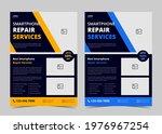 smartphone repair service flyer ...   Shutterstock .eps vector #1976967254