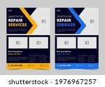 smartphone repair service flyer ...   Shutterstock .eps vector #1976967257