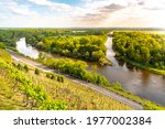 confluence of labe and vltava   Shutterstock . vector #1977002384