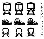 Train Icons Set. Train Pack...