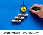 Code Of Ethics Symbol. Concept...