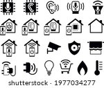 home automation and smart...   Shutterstock .eps vector #1977034277