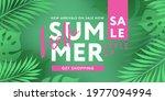 hello summer sale design... | Shutterstock .eps vector #1977094994