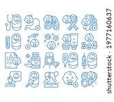pediatrics medical sketch icon... | Shutterstock .eps vector #1977160637