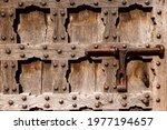 Antique Decorated Door With...