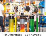 bangkok   june 4  oil pumps for ... | Shutterstock . vector #197719859