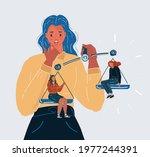 cartoon vector illustration of...   Shutterstock .eps vector #1977244391