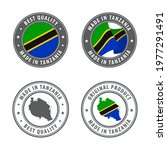 made in tanzania   set of... | Shutterstock .eps vector #1977291491