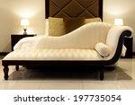 Chaise Lounge   Cream Chaise...