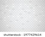 modern white color brick... | Shutterstock .eps vector #1977429614