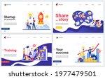 successful startup  business... | Shutterstock . vector #1977479501