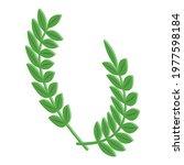 winner laurel icon. isometric...   Shutterstock .eps vector #1977598184