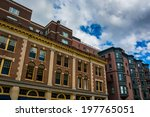 shops and buildings in back bay ... | Shutterstock . vector #197765051