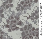 beautiful seamless pattern with ... | Shutterstock . vector #1977699887