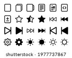 set of 24 another icons in...   Shutterstock .eps vector #1977737867
