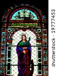 stained glass window in the... | Shutterstock . vector #19777453