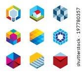 innovation building future real ... | Shutterstock .eps vector #197780357