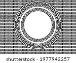 a colorful versace greek... | Shutterstock .eps vector #1977942257