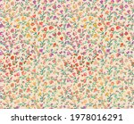 seamless pattern design with...   Shutterstock .eps vector #1978016291
