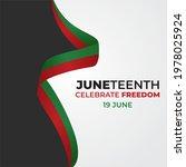 juneteenth day  celebration... | Shutterstock .eps vector #1978025924