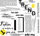 writing trend pattern... | Shutterstock .eps vector #1978132994