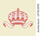 vector illustration with crown | Shutterstock .eps vector #197814905