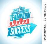 motivational strategy poster... | Shutterstock . vector #1978169177