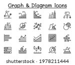 graph  chart and diagram icon... | Shutterstock .eps vector #1978211444